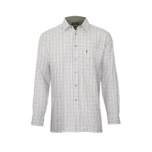 Champion Tattersall Cotton Shirt In Blue, Green, Wine Check