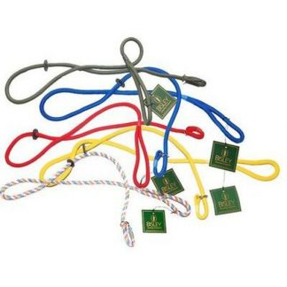 Bisley Braided Training Slip Lead for Dogs