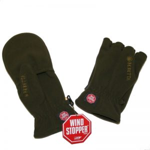 Beretta Goretex Windstopper Shooting Mitt in Green XL