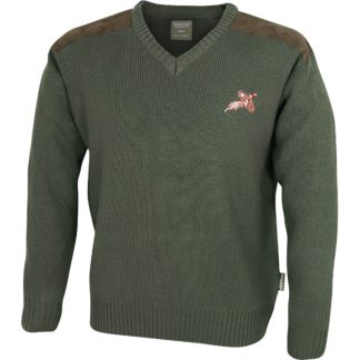 Jack Pyke Pheasant Shooters Sweater in Green