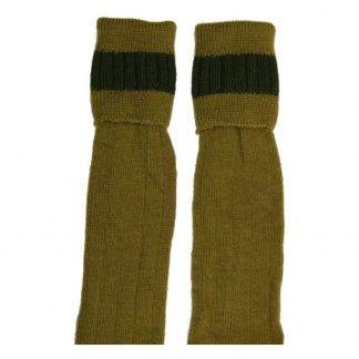 Bisley Shooting Breek Sock in Antique / Olive
