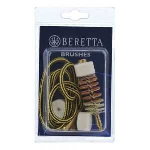 Beretta Speedy Clean Shotgun Pull-Through Cleaning Brush & Pad 12 g