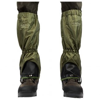Jack Pyke Green Waterproof Gaiters For Hunting Beating Fishing