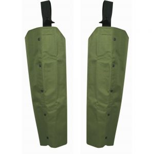 Jack Pyke Waterproof Chaps in Green For Hunting Beating Fishing