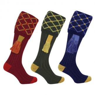 Jack Pyke Diamond Shooting Socks & Garter Set