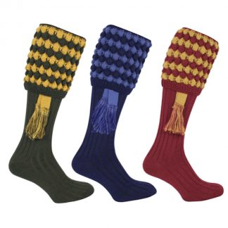 Jack Pyke Pebble Shooting Socks & Garter Set