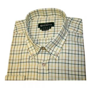 Beretta LU321 Classic Shirt Blue, Green, Brown & Yellow Rope Check