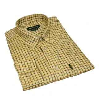 Beretta LU321 Classic Shirt Blue, Green, Brown & Violet Rope Check