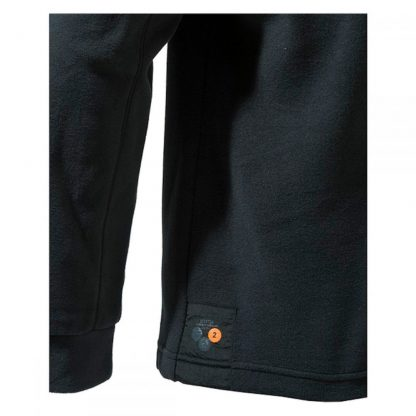 Beretta Half Zip Light Fleece in Black P3311