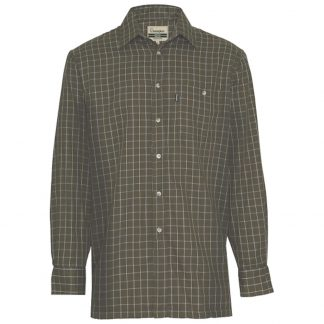 Champion Tattersall Cotton Shirt Green Check