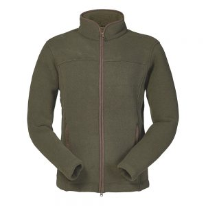 Musto Melford Dark Moss Green Shooting Fleece from The Sporting Store