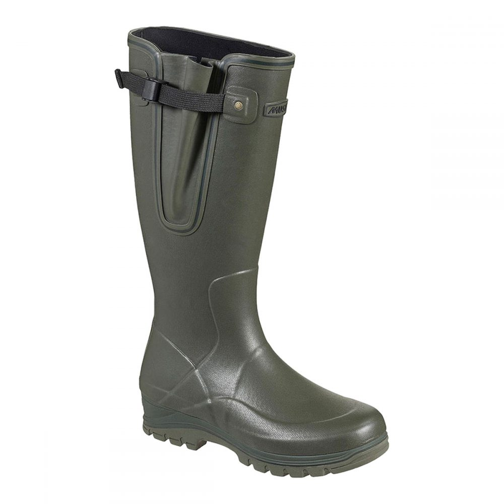 81064a8f Musto Brampton Country Wellington Boot in Dark Moss
