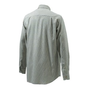 Beretta LUA10 Sport Classic Shirt in Green Check