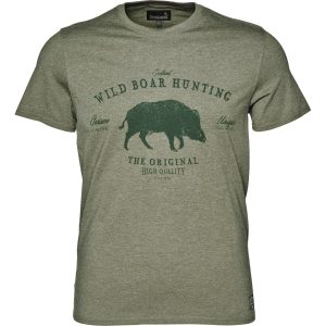 Seeland Aiden Tee Shirt With Wild Boar Motif
