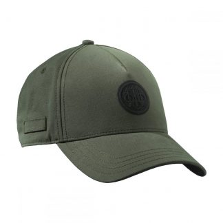 Beretta Rubber Patch Logo Cap Green