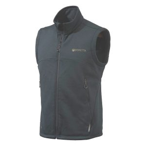 Beretta Polartec Wind Pro Static Fleece Vest Gilet Waistcoat Black