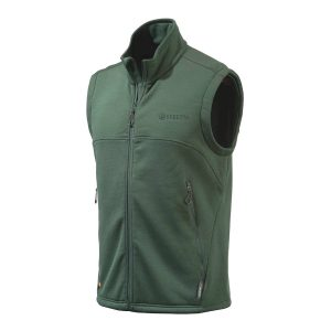 Beretta Polartec Wind Pro Static Fleece Vest Green