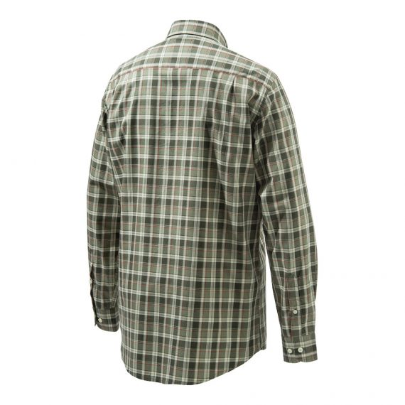 Beretta LU210 Classic Shirt Light Dark Green Fancy