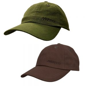 Musto Evo Crew Cap Dark Brown or Dark Moss