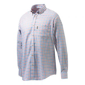 Beretta LU321 Classic Shirt White Red Blue Check