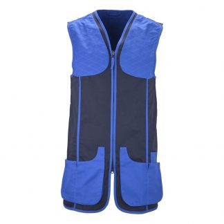 Beretta Urban Cotton Shooting Vest GT591 Blue Size XL