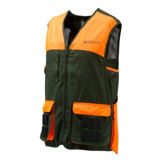 Beretta GU411 Cartridge Shooting Vest Green Orange Size L