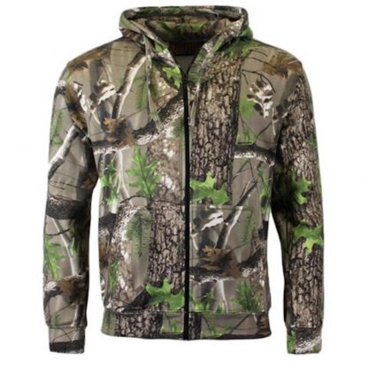 Game Trek Tree Camo Hoody Jacket