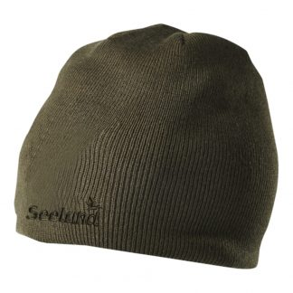 Seeland Crew Beanie Hat in Green
