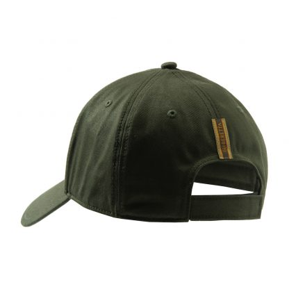 Beretta Corporate Striped Cap in Green