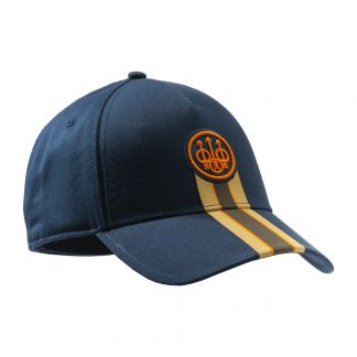 Beretta Corporate Striped Cap in Blue