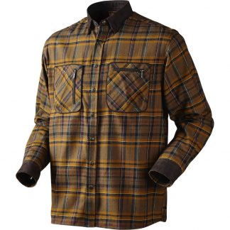 Harkila Pajala Shirt in Tobacco Check