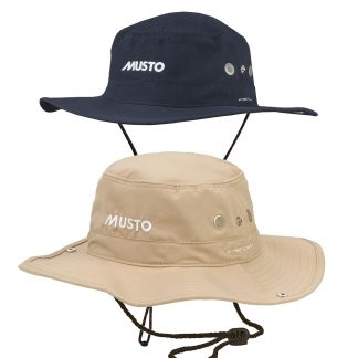 Musto Evo FD Brimmed Hat in Navy or Stone
