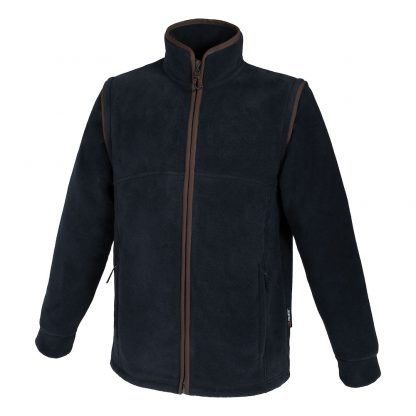 Beretta Fleece Jacket/Gilet in Green or Charcoal P3391