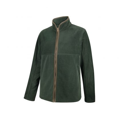 Hoggs of Fife Stenton Technical Fleece Jacket in Midnight Navy or Pine Green