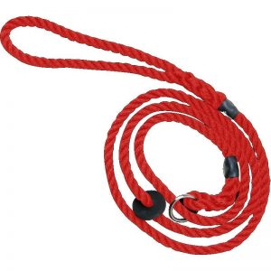 Bisley Deluxe Red Dog Training Slip Lead