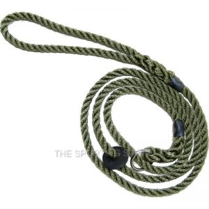 Bisley Deluxe Olive Green Training Slip Lead