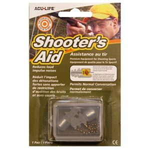 Sonic Shooter Aid Hearing Plugs