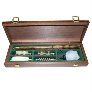 Bisley Shotgun Cleaning Kit 12 gauge / bore in a Wooden box