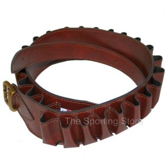 Cartridge Belt in Mock Leather Vinyl