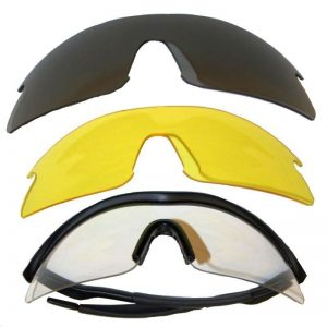 Jack Pyke Professional Shooting Glasses 3 Lenses