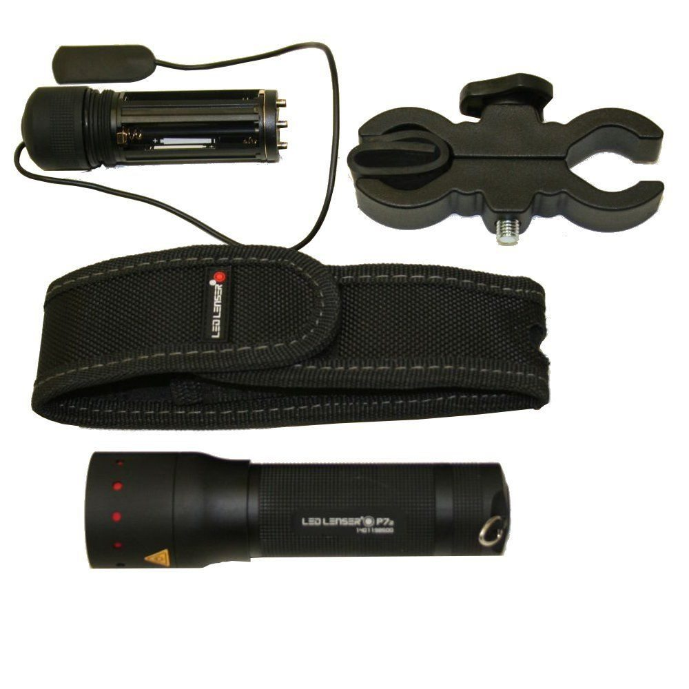 With Mounting Led Free Filters P7 Torch Kit Colour Lenser MUVpzSq