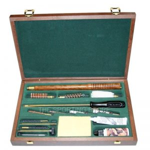 Combination Gun Cleaning Kit for Shotguns 12g and Rifles .22 & Pistols 9mm